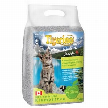 Tigerino Canada Kattenbakvulling- appelgeur   15 kg