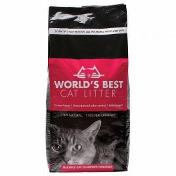 World's Best Cat Litter Extra Strength   Vanaf