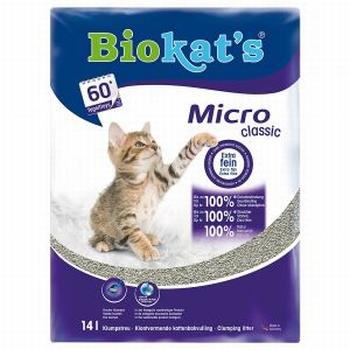 Biokats Micro kattenbakvulling   Vanaf