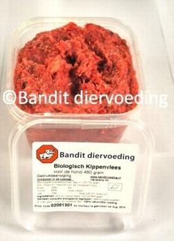 Bandit Bio Kip met maisolie voor de hond  24 x 480 gram