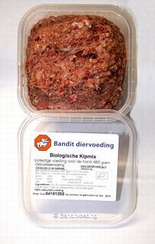 Bio Vleesmix Kip voor de hond  24 x 480 gram