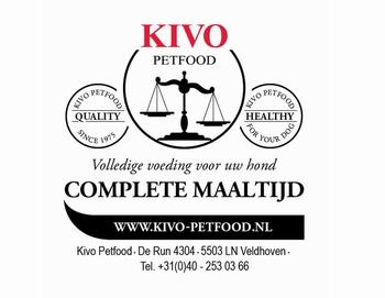 KIVO Complete Maaltijd 250 gram Verpakkingen  10 kg