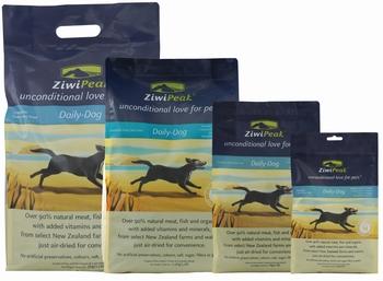 ZiwiPeak Lucht Gedroogd Hertenvlees en Vis  2,5 kg