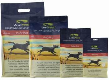 ZiwiPeak Lucht Gedroogd Hertenvlees  2,5 kg
