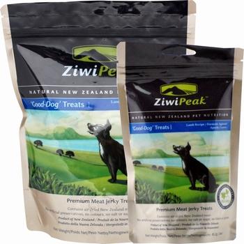 ZiwiPeak Good-Dog snacks van vers lamsvlees  454 Gram