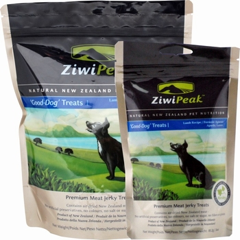 ZiwiPeak Good-Dog snacks van vers lamsvlees  85 Gram