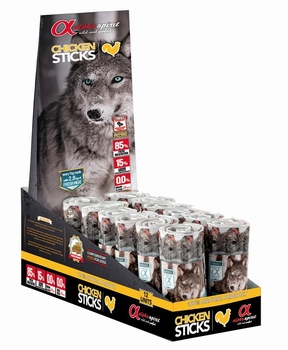 Alpha Spirit Dogs Ristra Sticks Kip  4 Sticks