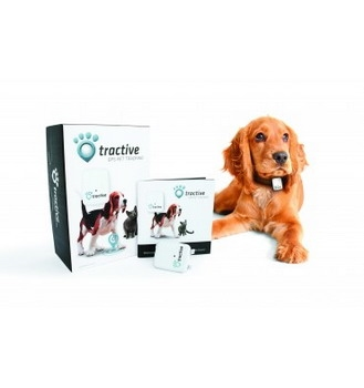 Tractive GPS met APP voor de hond  Per Stuk