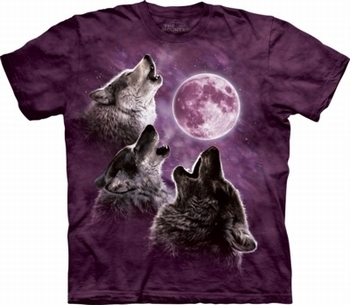 3 Wolf Moon Purple  Per Stuk
