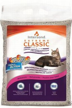 Extreme Classic kattenbakvulling met babypoedergeur   15 kg