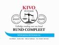 KIVO Compleet Rund 1 kg Verpakkingen 10 kg