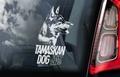 Tamaskan Dog 1 Hondensticker voor op de auto Per Stuk
