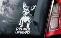 Chihuahua 1 Hondensticker voor op de auto Per Stuk