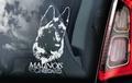 Mechelaar 7 Hondensticker voor op de auto Per Stuk