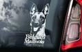 Mechelaar 10 Hondensticker voor op de auto Per Stuk