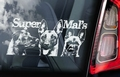 Mechelaar 12 Hondensticker voor op de auto Per Stuk