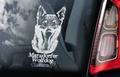 Marxdorfer Wolfdog Hondensticker voor op de auto Per Stuk