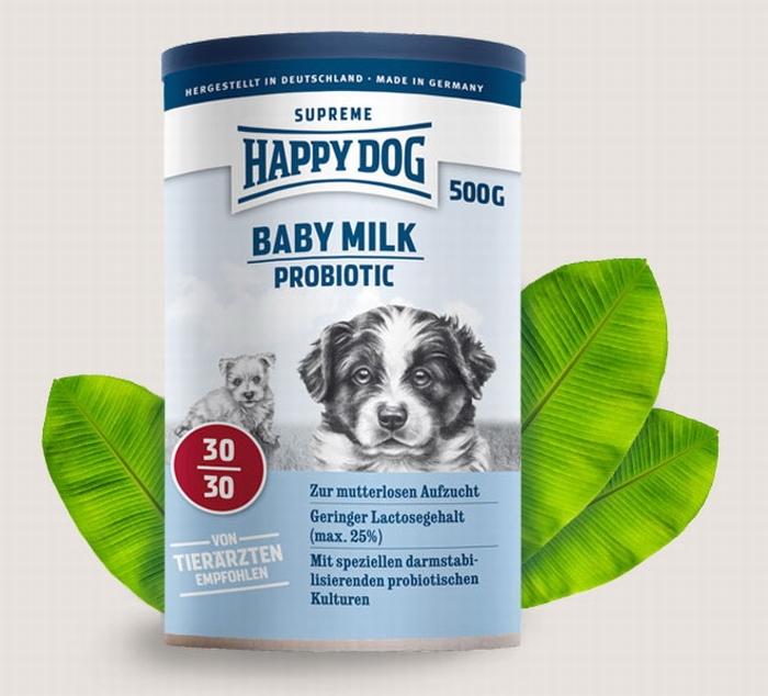 happy dog baby milk probiotic 500 gram. Black Bedroom Furniture Sets. Home Design Ideas